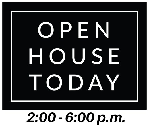 OPEN HOUSE TODAY