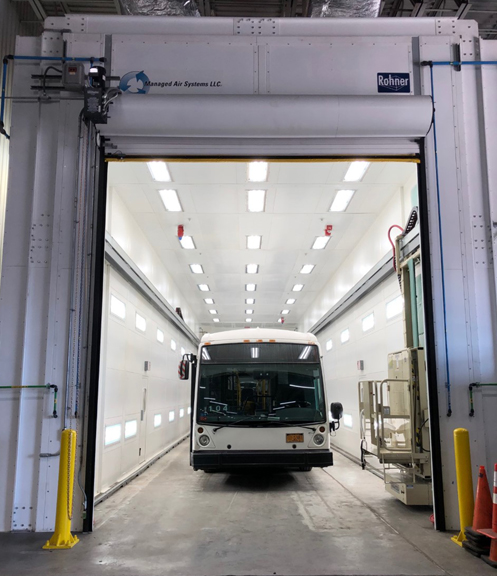 Another Successful Transit Paint Facility Upgrade