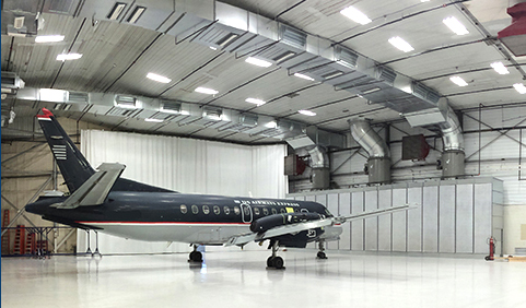 HOW AN AIRCRAFT PAINT BOOTH INSERT IS THE SOLUTION FOR YOUR HANGAR