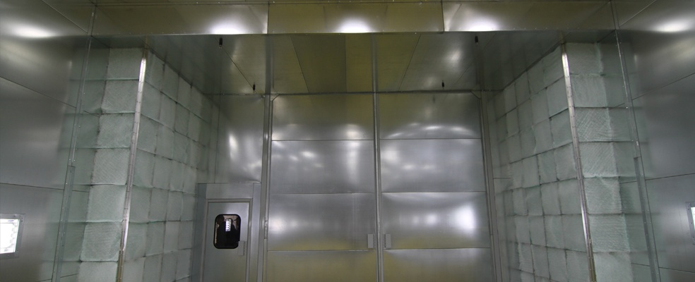 Rohner Modified Crossdraft Spray Booths