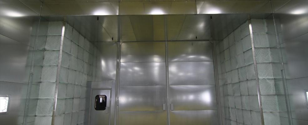 Rohner Modified Crossdraft Spray Booths