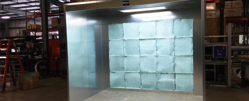 Open Face Spray Booths