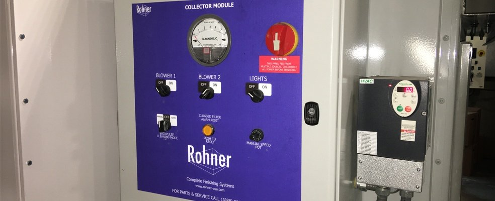 Rohner Operator Process Controls