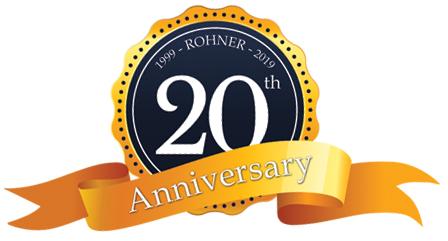 Rohner 20th anniversary