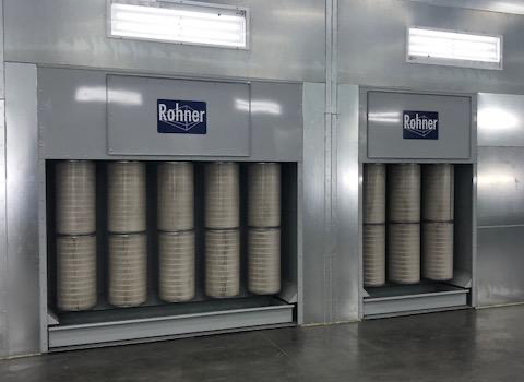 batch-cartridge-recovery-powder-booth