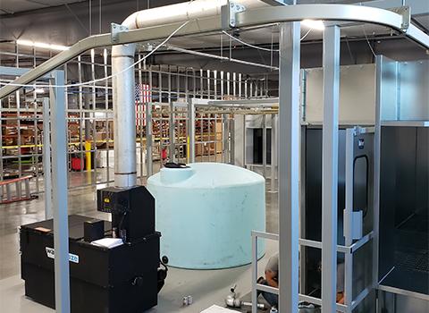 Rohner Manual Wash Enclosure