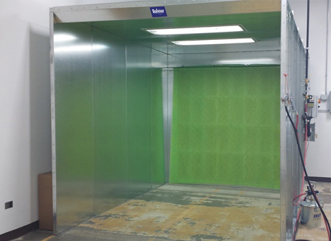 Rohner Open Face Spray Booth