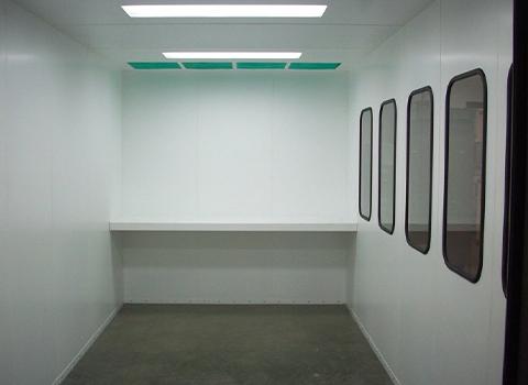 paint mix room