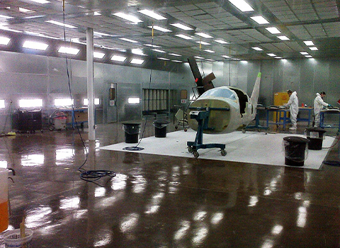 Sanding Grinding Booth